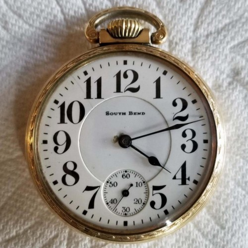 South Bend Grade 227 Pocket Watch