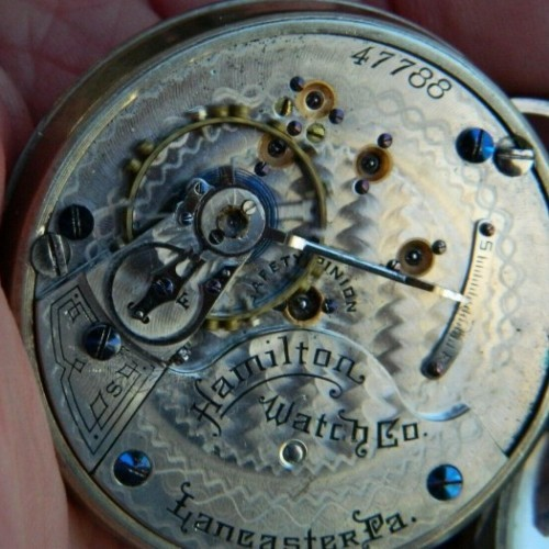 Hamilton Grade 931 Pocket Watch