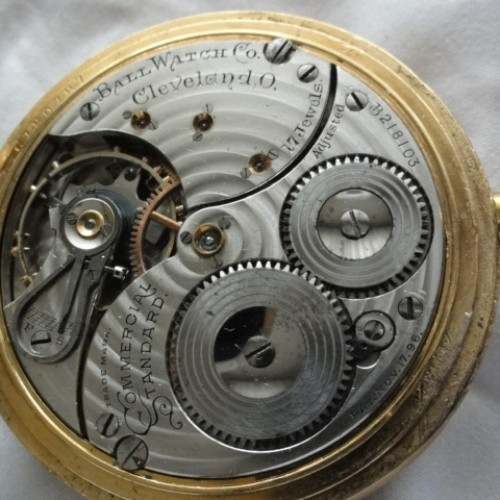 Image of Ball - Waltham Commercial Standard #B218103 Movement