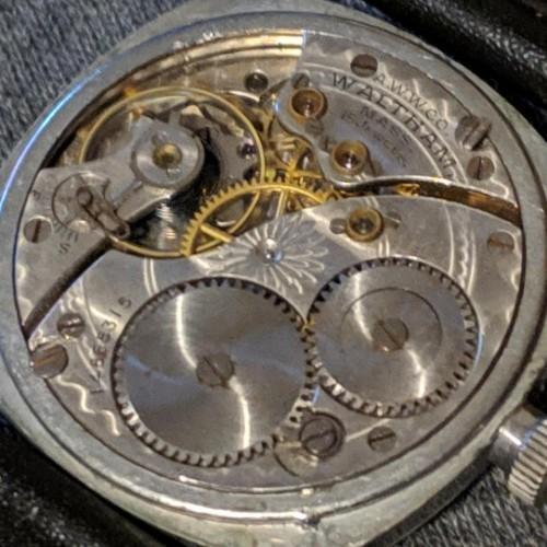 Waltham Grade No. 165 Pocket Watch Image