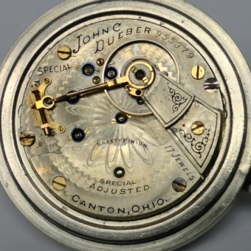 Hampden Grade John C. Dueber Special Pocket Watch Image