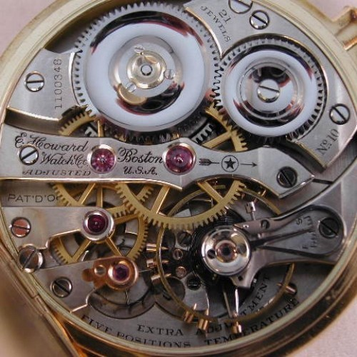 E. Howard Watch Co. (Keystone) Grade Series 1 Pocket Watch Image