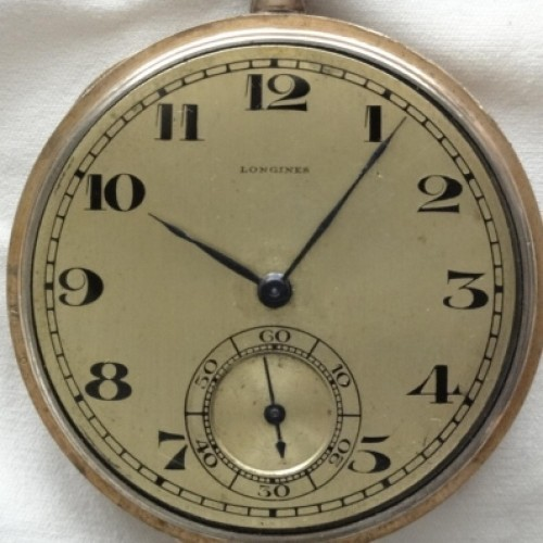 Longines Grade 18.70 Pocket Watch Image