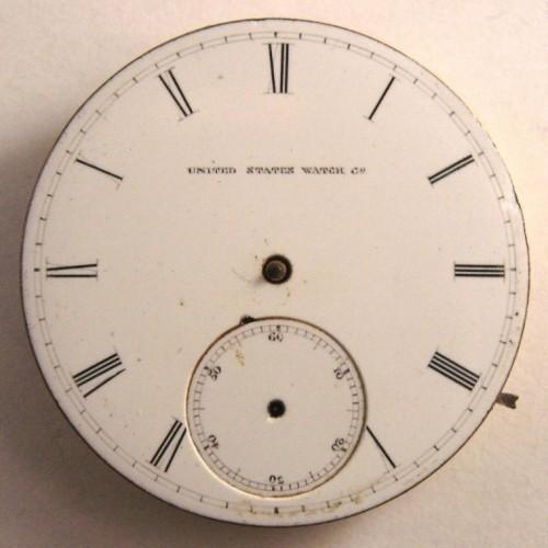 U.S. Watch Co. (Marion, NJ) Grade A.J.Wood Pocket Watch Image