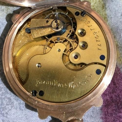 Elgin Grade 92 Pocket Watch Image