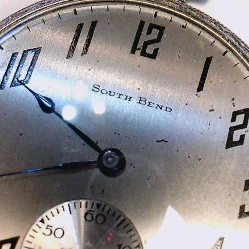 South Bend Grade 429 Pocket Watch Image