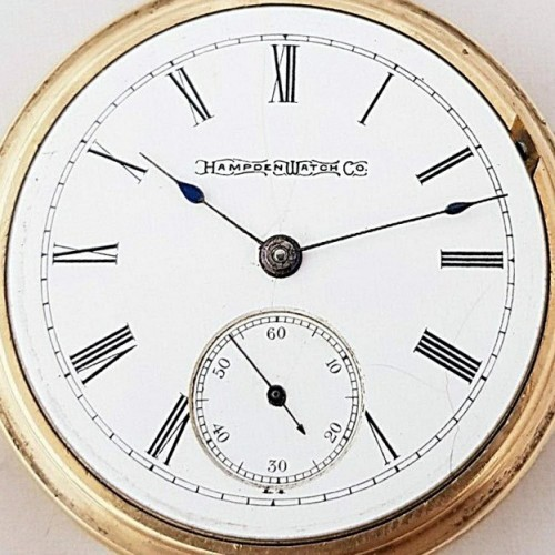 Hampden Grade No. 66 Pocket Watch Image