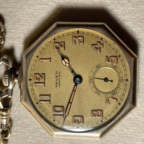 Gruen Watch Co. Grade V4 - precision Pocket Watch Image