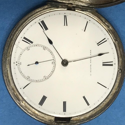 New York Springfield Watch Co. Grade John L King Pocket Watch Image
