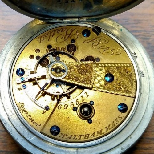American Watch Co. Grade P.S. Bartlett Pocket Watch Image