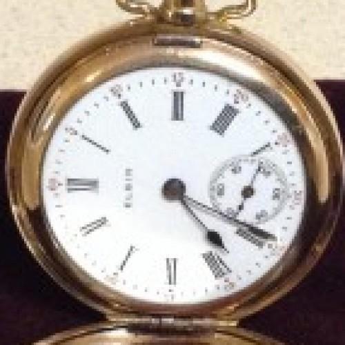 Elgin Grade 413 Pocket Watch Image