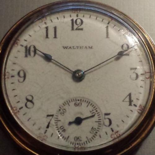 Waltham Grade No. 61 Pocket Watch Image