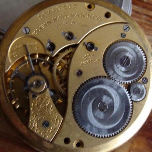 Elgin Grade 395 Pocket Watch Image