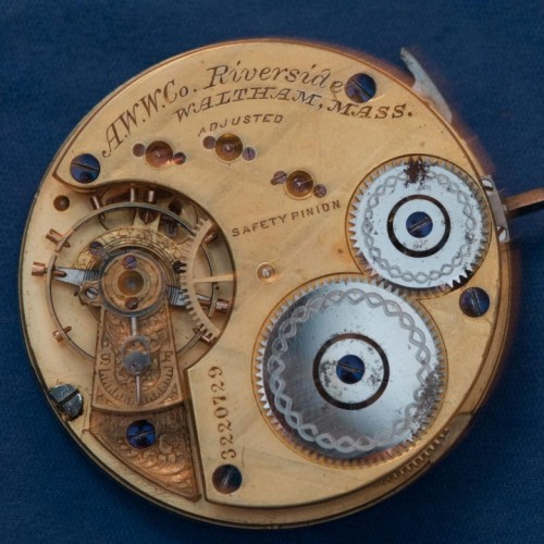 American Watch Co. Grade Riverside Pocket Watch Image