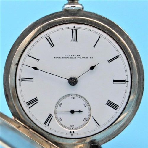 Illinois Grade Bates Pocket Watch Image