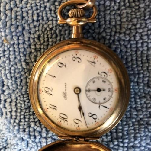 Illinois Grade 33 Pocket Watch Image