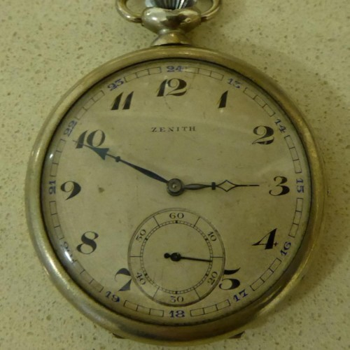 Zenith Grade Unknown Pocket Watch Image