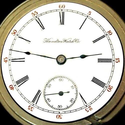 Hamilton Grade 931 Pocket Watch Image
