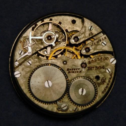 Hampden Grade No. 304 Pocket Watch Image