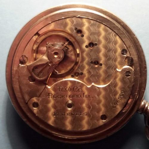 Rockford Grade 838 Pocket Watch Image