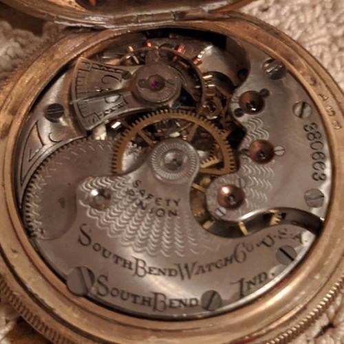 South Bend Grade 160 Pocket Watch Image