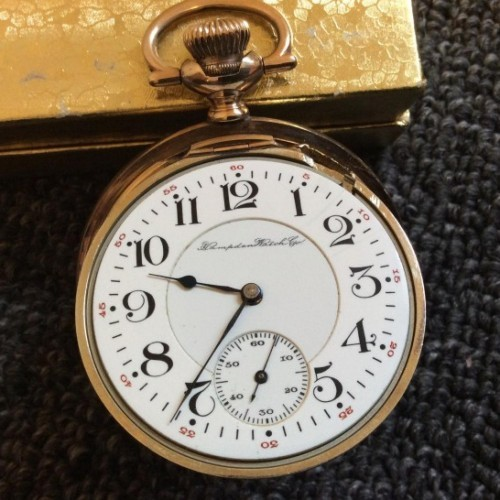 Hampden Grade No. 105 Pocket Watch Image
