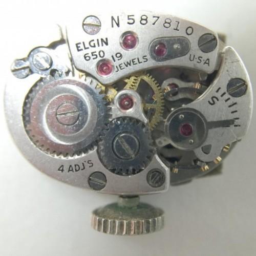 Elgin Grade 650 Pocket Watch Image