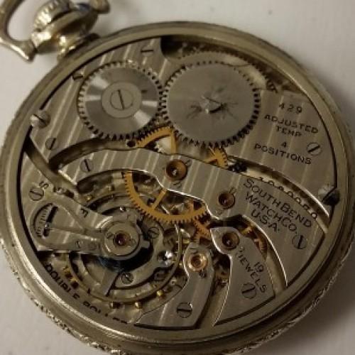 south bend pocket watch serial numbers