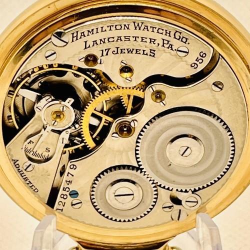 Hamilton Grade 956 Pocket Watch Image