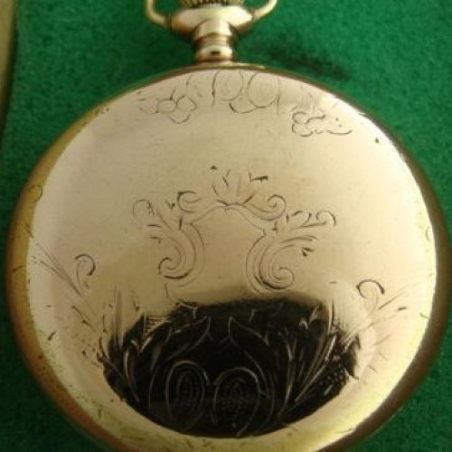 Hampden Grade No. 600 Pocket Watch Image