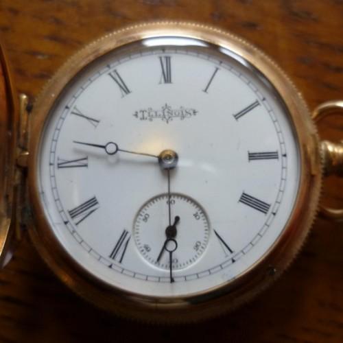 Illinois Grade 163 Pocket Watch Image