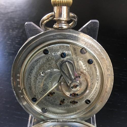 Peoria Watch Co. Grade  Pocket Watch Image