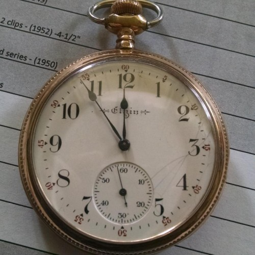 Elgin Grade 300 Pocket Watch Image