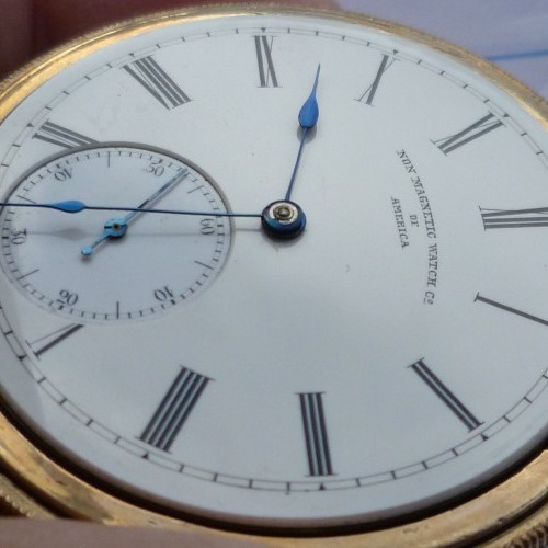 Image of Non-Magnetic Watch Co.  #327498 Dial