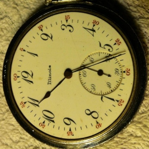 Illinois Grade 255 Pocket Watch Image