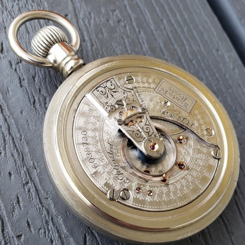 Waltham Grade Crescent St. Pocket Watch Image