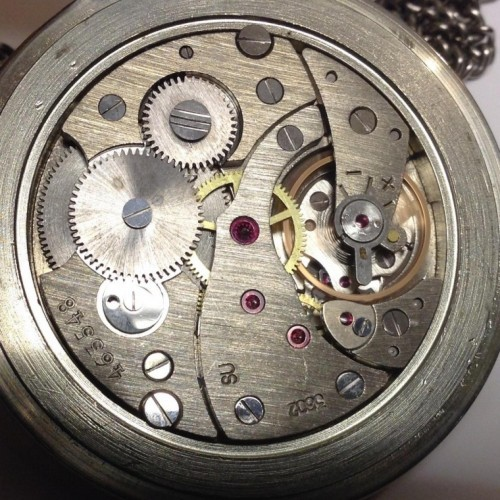 Molnija Grade 3602 - 1980's Pocket Watch Image
