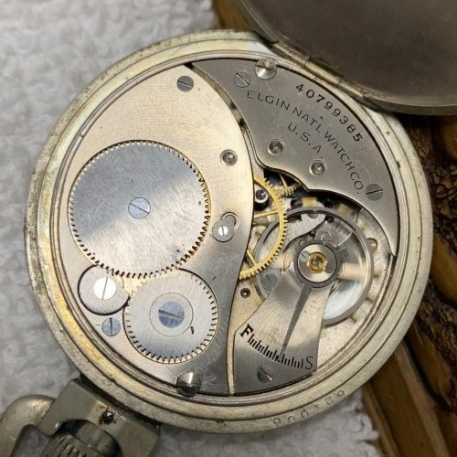 Elgin Grade 469 Pocket Watch Image