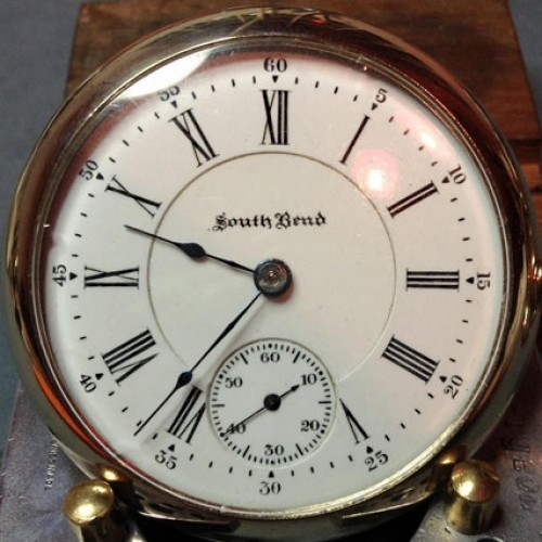 South Bend Grade 340 Pocket Watch Image