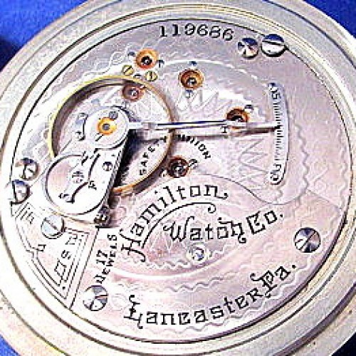 Hamilton Grade 925 Pocket Watch Image