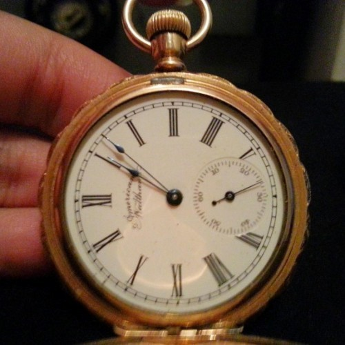 Waltham Grade J Pocket Watch Image