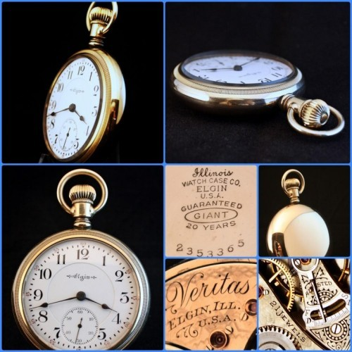 Elgin Grade 239 Pocket Watch Image