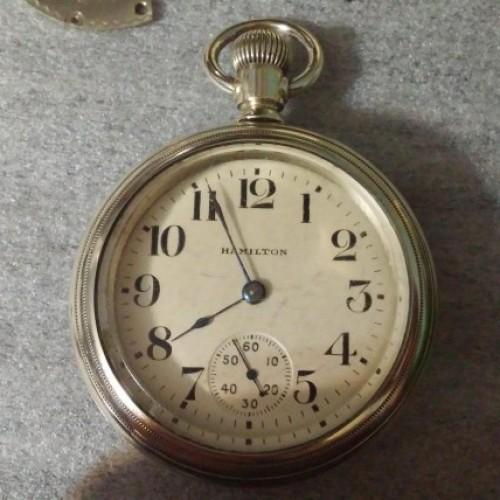 Hamilton Grade 926 Pocket Watch Image