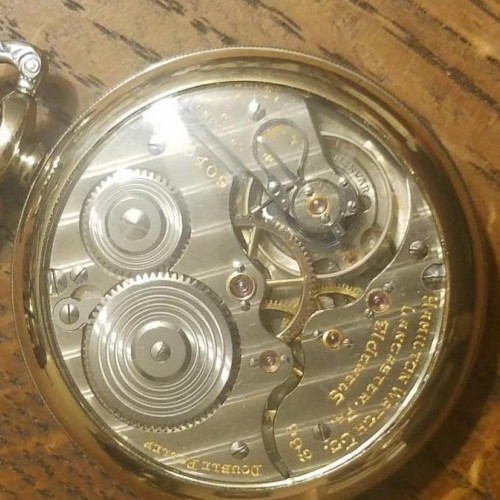 Image of Hamilton 992E #2595408 Movement