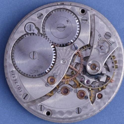 Waltham Grade No. 1015 Pocket Watch Image
