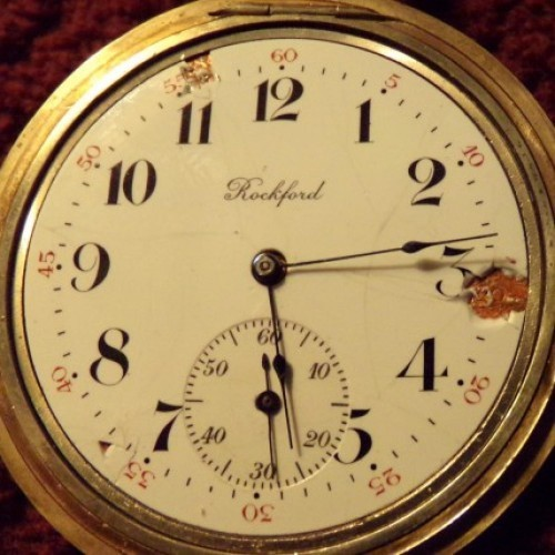 Rockford Grade 365 Pocket Watch Image