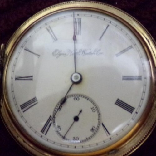 Elgin Grade 96 Pocket Watch Image