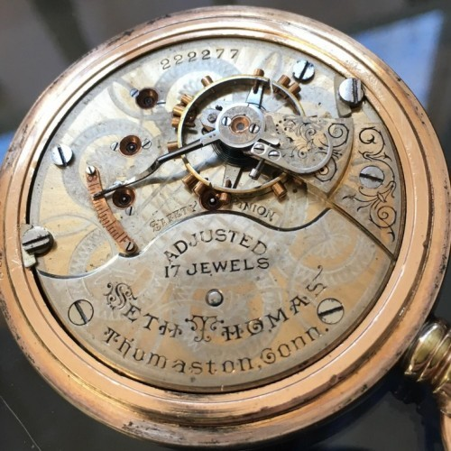 Seth Thomas Grade 182 Pocket Watch Image