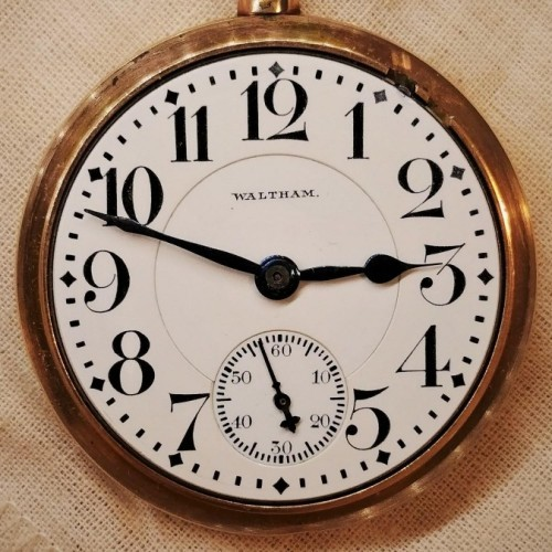 Waltham Grade Crescent St. Pocket Watch