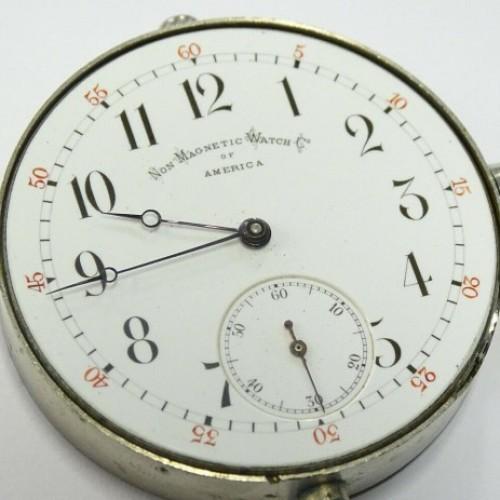Non-Magnetic Watch Co. Grade PAILLARD'S PATENT Pocket Watch Image